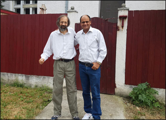 Dr. Vikram Chauhan With Dr. Zarko in Belgrade, Serbia