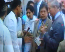Dr. Vikram Chauhan Gave a presentation on herbal products and Ayurveda to Prince Charles of UK and Duchess of Cornwall Ms. Camila Parker